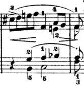 Mozart cadence
